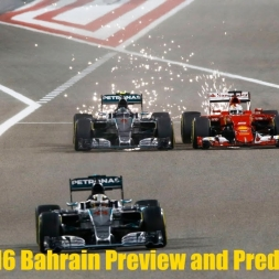 F1 2016 Bahrain GP Preview and Predictions