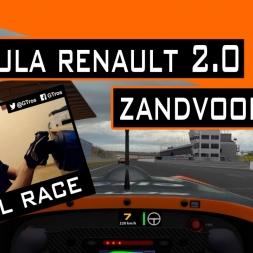 iRacing Race | Formula Renault 2.0 @ Zandvoort | Season 2 - 2016