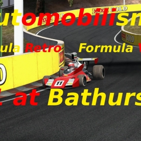 Automobilista // F1 at Bathurst // Formula retro + Formula V10