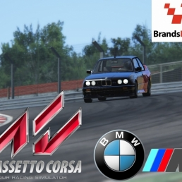 Assetto Corsa :: BMW M3 E30 Step 1 @ Brands Hatch Indy :: HOTLAP ON BOARD