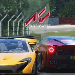 Assetto Corsa | P1 vs LaFerrari @ Nordschleife | TV CAM