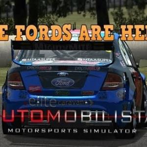 Automobilista V8 Supercars 2016 FORDS Mod