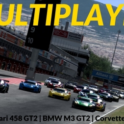 Assetto Corsa | Multiplayer | Corvette C7R @ Barcelona