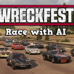 Wreckfest Early Access | Singleplayer Race @ Sandpit 1 Route 2