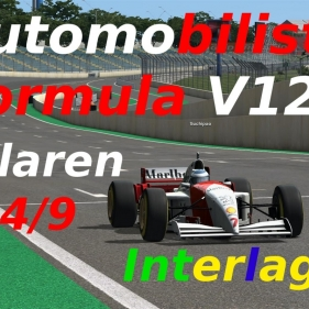 Automobilista // Formula V10 // Mclaren MP4/9 // Interlagos