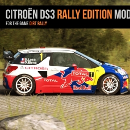 DiRT Rally - Citroen DS3 Rally Edition Mod