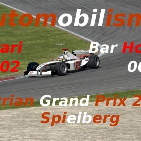 Automobilista // Formula V10 // F1 saison 2002 // F2002 vs BAR Honda 004 // Spielberg