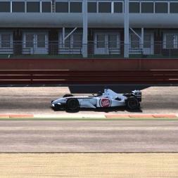 Assetto Corsa: BAR 004 Jacques Villeneuve @ Silverstone - Ferrari F2002