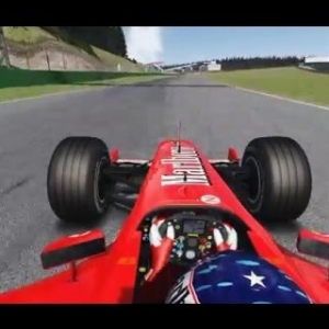 Assetto Corsa: Ferrari F2002 Rubens Barrichello @ Spa Francorchamps