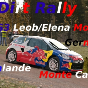 Dirt Rally // DS3 WRC MOD // Finlande-Germany-Monte Carlo