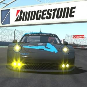 VEC Istanbul - Pole Position with Pedal cam - Porsche GTE - rFactor 2 2016