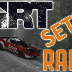 Dirt Rally - Controller - Lancia Stratos - Gameplay - Setup Sunday