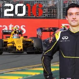F1 2016 Australian GP Jolyon Palmer Season
