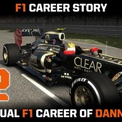 F1 Career Story 02 - 2012 - Upward line in Malaysia!