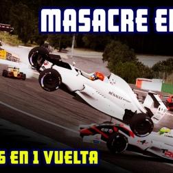 iRacing | Masacre en Spa - P24 a P6 en 1 vuelta @ Formula Renault 2.0