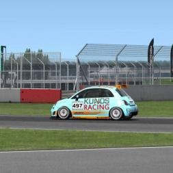 Core-Racing.co.uk Trofeo Abarth 500 Race 3+4 Highlights