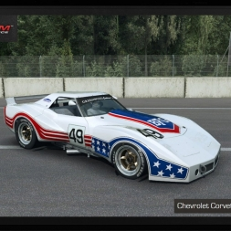 Raceroom Racing Experience: Chevrolet Corvette Greenwood 1977 @Monza GP - preview & test lap