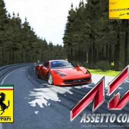 Assetto Corsa :: Ferrari 458 Italia @ Bergrennen Mickhausen