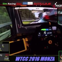 RACE Room_WTCC 2014 online race_Monza
