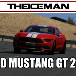 Assetto Corsa V1.5 Ford Mustang GT 2015 @ Black Cat Country