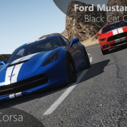 Assetto Corsa Ford Mustang GT 2015 vs Black Cat County Short