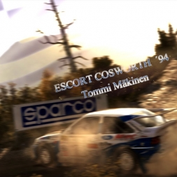 DiRT Rall - Greece Escort Cosworth 94, Thrustmaster T300RS