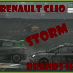 Project Cars - Renault Clio - Brands Hatch - Storm