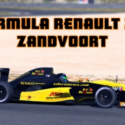 iRacing | Formula Renault 2.0 @ Zandvoort