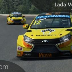 RaceRoom WTCC 2015 | Lada Vesta WTCC Onboard Nürburgring
