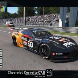 Project CARS: Chevrolet Corvette C7.R @Monza GP - preview & test lap (US Race Car Pack)