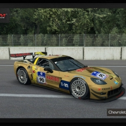 Raceroom Racing Experience: Chevrolet Corvette Z06.R GT3 @Monza GP - preview & test lap