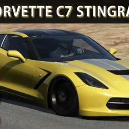 Assetto Corsa - Corvette C7 Stingray at Black Cat County