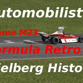 Automobilista // Fromula Retro // Mclaren 1975 skin // Spielberg historic