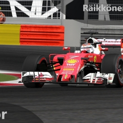 rFactor F1 2016 Räikkönen Onboard Bahrain