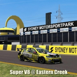 Super V8 @ Eastern Creek - Automobilista 60FPS
