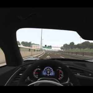 Assetto Corsa EDTracker Pro Head Tracking Test [1440p 60fps]
