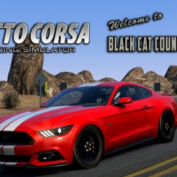 Assetto Corsa | Bonus Pack 2 | Ford Mustang 2015 @ Black Cat County