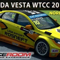Raceroom - Lada Vesta WTCC 2015 at Nordschleife