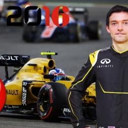 F1 2016 Bahrain GP Jolyon Palmer Season