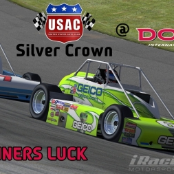 """iRacing - Beginners Luck"" (USAC Silver Crown at Dover International Speedway)"