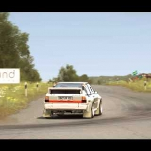 DiRT Rally - Audi Sport Quattro - Gameplay (PC HD) [1080p]