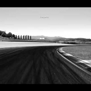 Black & White Mugello Circuit