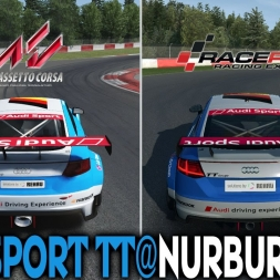 Assetto Corsa X Raceroom - Audi Sport TT @ Nurburgring