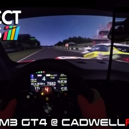 Project CARS Race - BMW M3 GT4 @ CADWELLPARK