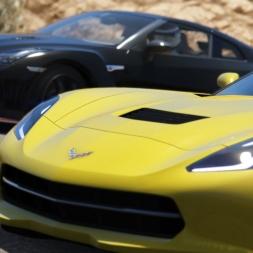Assetto Corsa 1.5 / Bonus Pack 2 / GT-R Nismo VS Corvette C7 Stingray