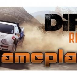 Dirt Rally gameplay Headcam