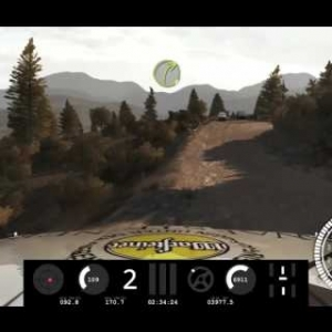 DiRT Rally 270 degree my run test