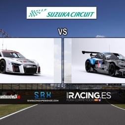 [iRacing Comparison] Audi R8 LMS (vs) BMW Z4 GT3 @ Suzuka