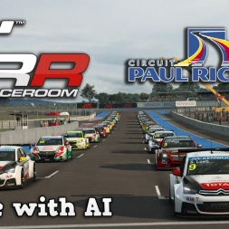 RaceRoom Racing | Singleplayer | WTCC 2015 @ Circuit Paul Ricard