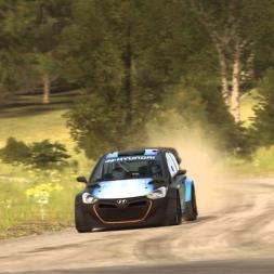 DiRT Rally - Hyundai i20  - Gameplay (PC HD) [1080p] Amazing sound